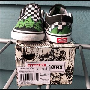 Limited Marvel Hulk Toddler Vans